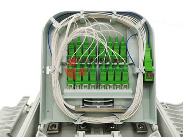 Transformer Fiber Optic Termination Cabinet Distribution Box For PLC Splitter